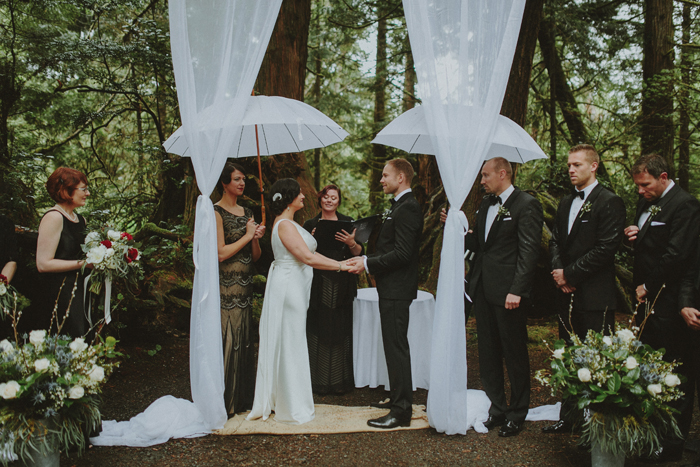 Ceremony at campsite near Middle Beach Lodge in British Columbia